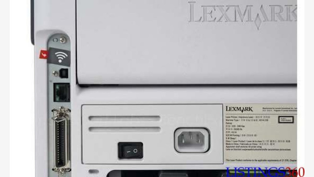 Lexmark MS312DN - Connectivity: USB, Parallel and 10/100/1000 Ethernet,