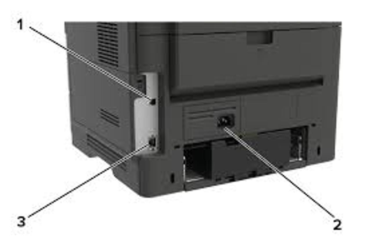 Lexmark MS321dn Laser Printer - Inputs -  36S0100