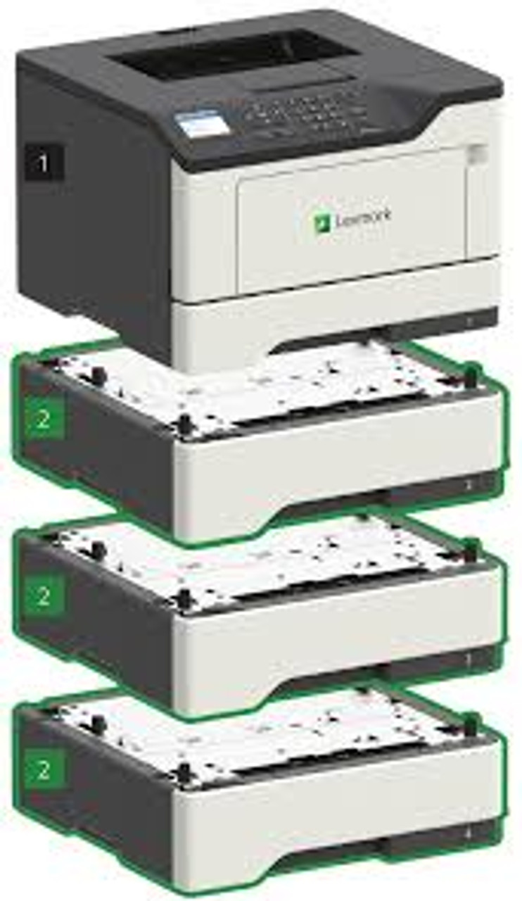 Lexmark MS421dn Laser Printer - Optional Trays -  36S0200