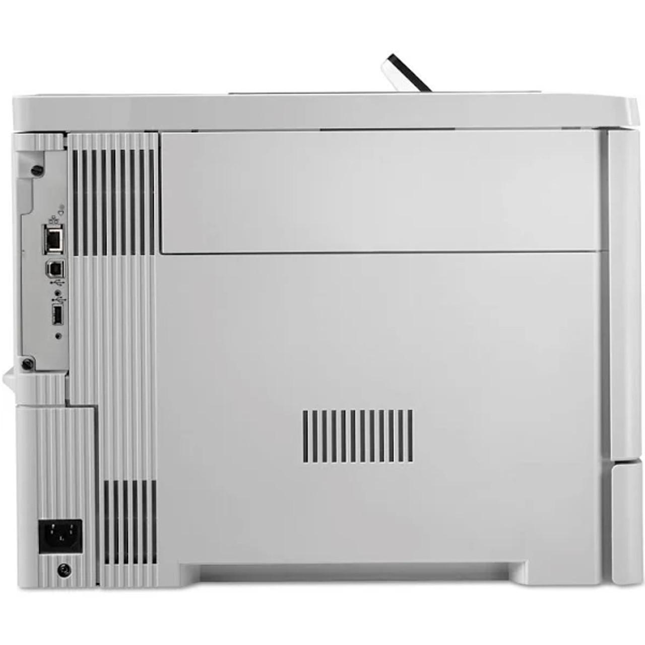 HP Color LaserJet Enterprise M553n Laser Printer  Rear