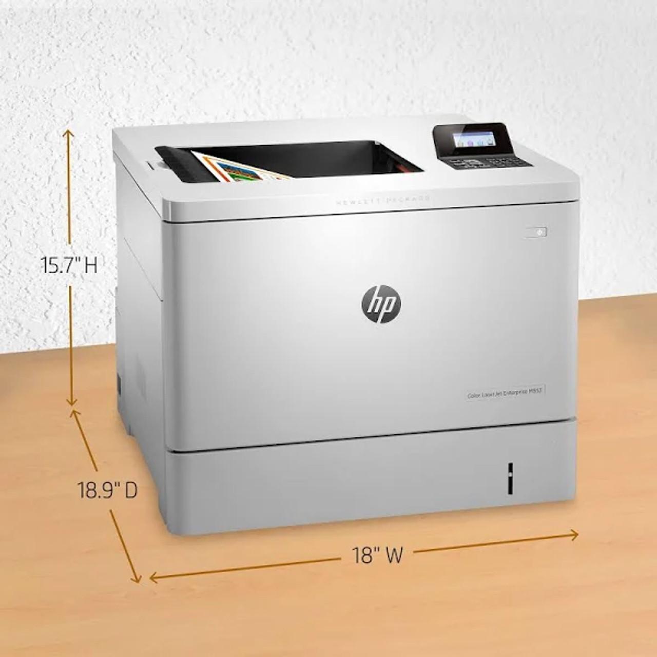 HP Color LaserJet Enterprise M553n Laser Printer - B5L25A#BGJ