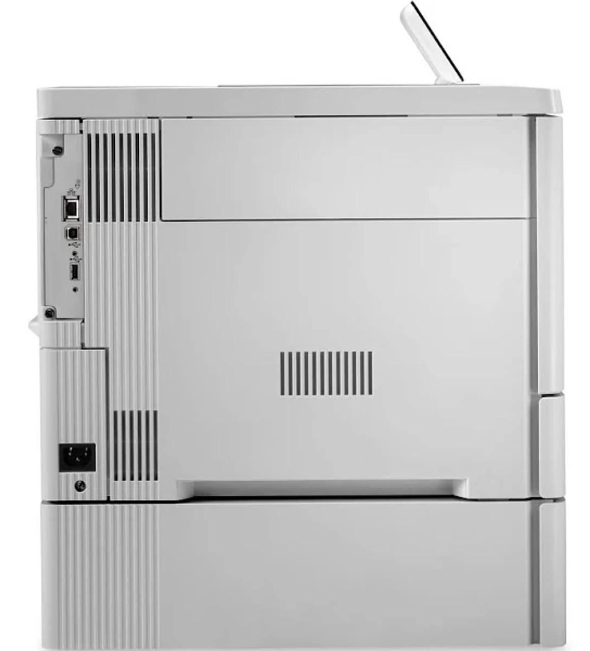HP Color LaserJet Enterprise M553x Rear