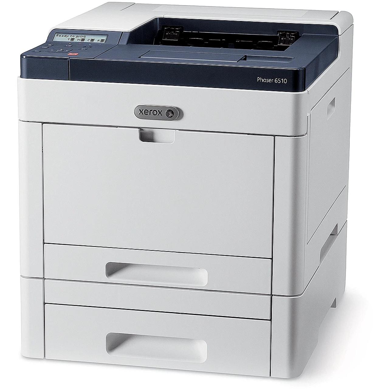 Xerox 6510 with optional tray