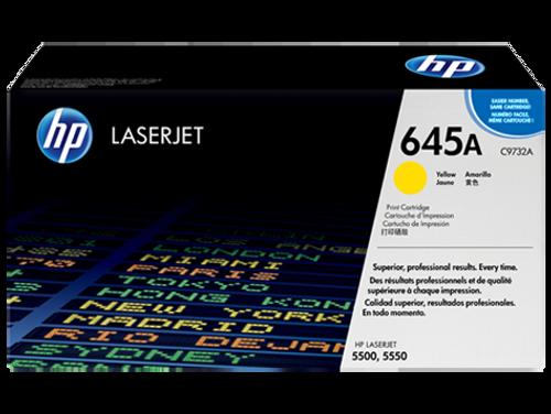HP 5500 5550 Yellow Toner Cartridge - New