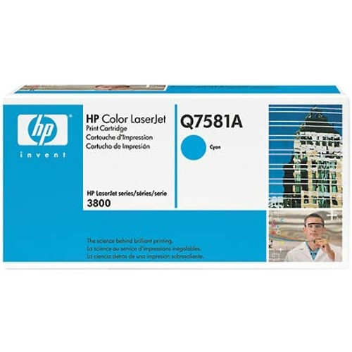 HP 3800 Cyan Toner Cartridge - New