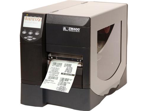 Zebra ZM400 Direct Thermal Transfer Label Barcode Printer