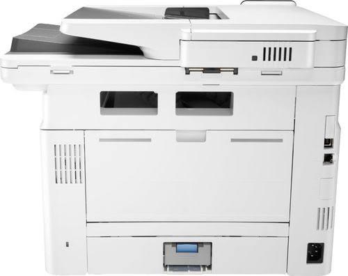 HP - LaserJet Pro MFP M428fdw Black-and-white All-in-One Laser Printer - White