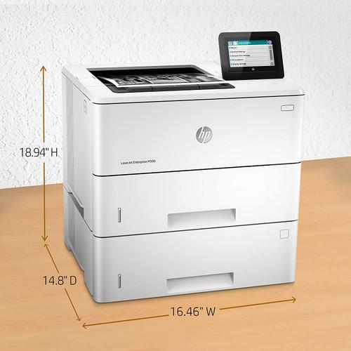 HP LaserJet Enterprise M507x Mono Laser Printer - 1PV88A -
