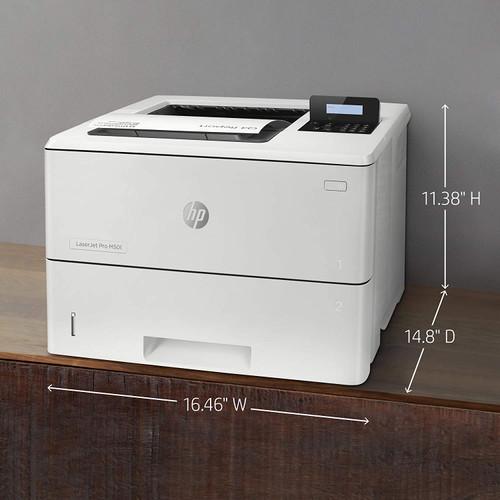 HP LaserJet Enterprise M507n Mono Laser Printer - 1PV86A -