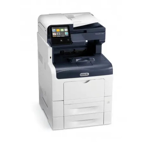 WorkCentre 6605 with optional paper tray for dual tray printing.  Letter and legal automatic printing.