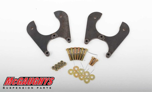 Chevrolet Fullsize Car 1955-1964 Rear Disc Brake Conversion Brackets - McGaughys Part# 63220