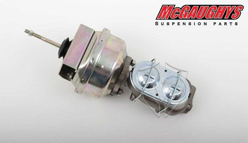 "Chevrolet Nova 1962-1967 7"" Brake Booster With Master Cylinder & Bracket - McGaughys Part# 63235"