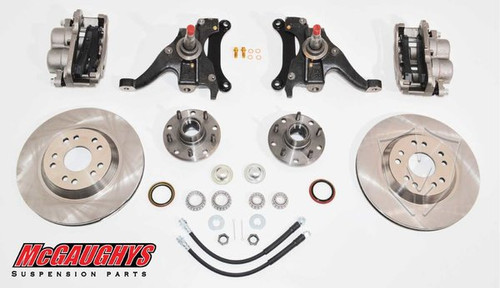 "Chevrolet S-10 1982-2003 13"" Front Disc Brake Kit; 5x4.75 Bolt Pattern - McGaughys Part# 93124"