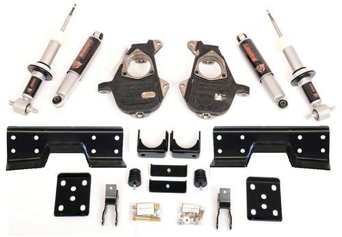GMC Sierra 1500 2007-2013 5/7 Deluxe Drop Kit W/Shocks