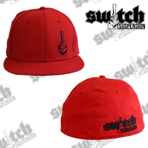 Switch Suspension Red Classic Fitted Flex Fit Hat