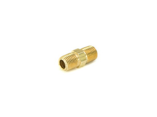 "ACCUAIR BRASS STRAIGHT MALE COUPLING 1/4""NPT TO 1/4"" NPT"