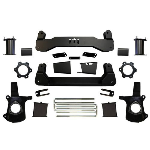 """GMC Sierra 1500 4wd 2007-2013 6"""" Basic Kit - Full Throttle Suspension Part #84302"""
