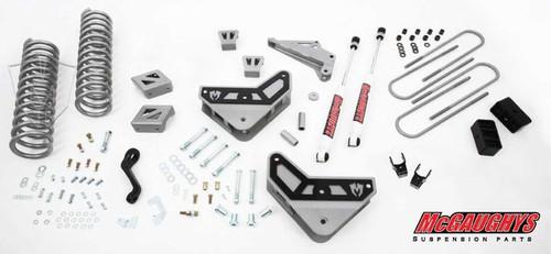 "Dodge Ram 3500 4wd 2013-2018 4"" Basic McGaughys Lift Kit"