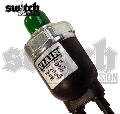 Viair Sealed Pressure Switch 85 PSI on 105 Off - Viair Part #90212