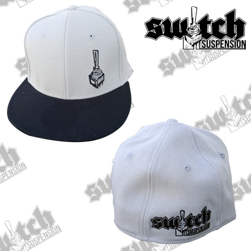 Switch Suspension Silver/Black Classic Fitted Flex Fit Hat