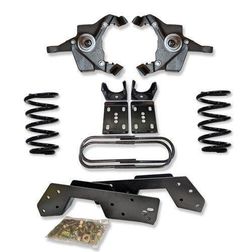 Chevrolet C-20/C-30 1973-1991 6/8 Deluxe Drop Kit