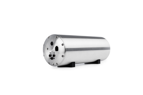 Accuair ENDO-VT (Valve-Tank) 2-Corner 3 Gallon Bolted Aluminum Air Tank