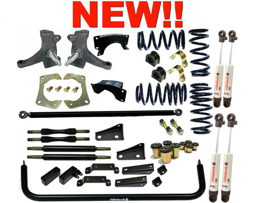 Chevrolet C-10 1963-1972 Street Grip Performance Suspension System - Ridetech Part# 11345010