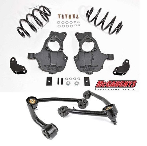 Chevrolet Suburban 4wd/AWD 2015-2020 2/3 Deluxe Drop Kit - McGaughys Part#34208