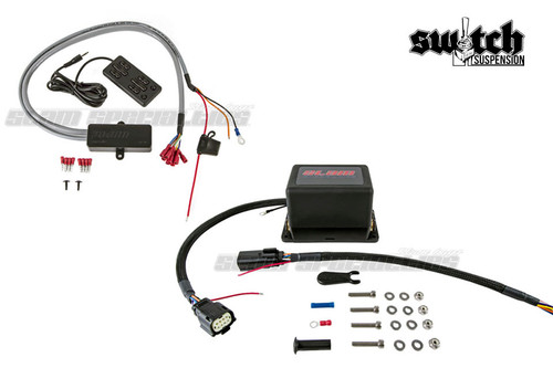 Slam Specialties 4 Corner Solenoid Valve w/ 8 Switch Air Suspension Controller