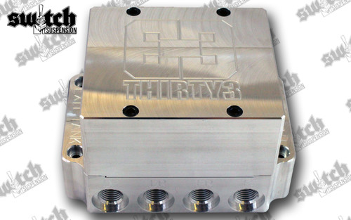 Thirty3 Pneumatics Machined Billet Manifold Valve