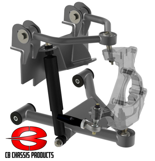 Cadillac Escalade 2wd 2002-2006 Front Air Suspension Kit - Choppin Block Part# 1055