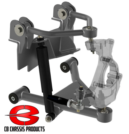 Cadillac Escalade 2wd 2007-2014 Front Air Suspension Kit - Choppin Block Part# 1057