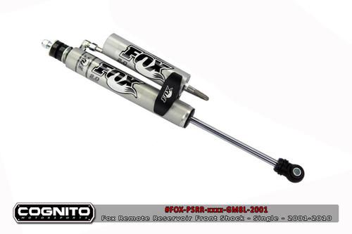"Chevrolet Silverado 2500HD/3500HD 2001-2010 Fox Performance Front Remote Reservoir 7"" Lift"