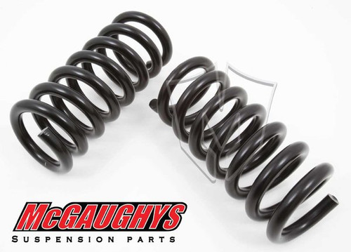 """GMC C1500 Cheyenne 1988-1998 Front 1"""" Drop Coil Springs - McGaughys Part# 33132"""