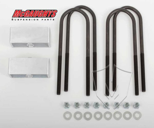 "Chevrolet Fullsize Car 1955-1957 Rear 3"" Drop Lowering Block Kit - McGaughys Part# 33124"