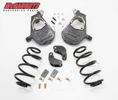 Chevrolet Suburban LD Shocks 2001-2006 2/3 Deluxe Drop Kit - McGaughys Part# 11010