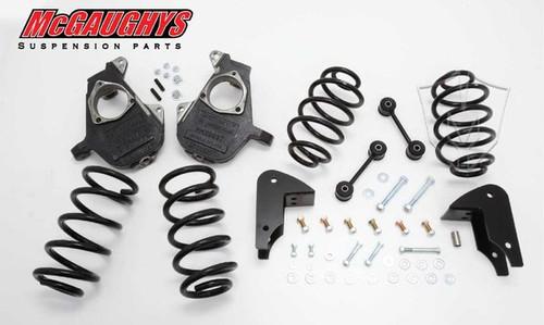 Chevrolet Avalanche LD Shocks 2007-2014 3/5 Deluxe Drop Kit - McGaughys Part# 30012