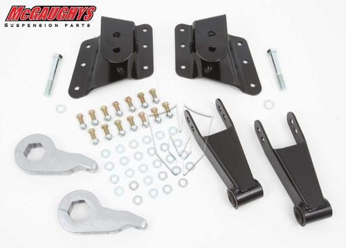 GMC Sierra 3500HD 10 Hole Hanger 2002-2010 2/4 Economy Drop Kit - McGaughys Part# 33076