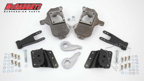 Chevrolet Silverado 1500HD 6 Hole Hanger 2002-2010 3/5 Deluxe Drop Kit - McGaughys Part# 33084