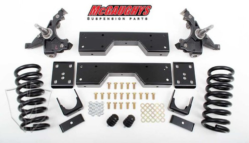 Chevrolet C1500 Silverado 1988-1998 4/6 Deluxe Drop Kit - McGaughys Part# 33137/33138