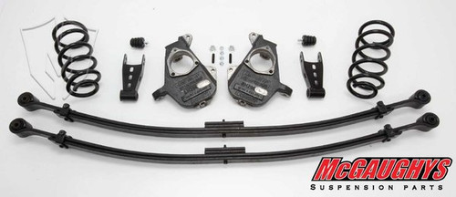 GMC Sierra 1500 Quad Cab 2007-2013 3/5 Deluxe Drop Kit - McGaughys Part# 34002