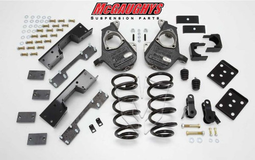 Chevrolet Silverado 1500 Quad Cab 2007-2013 4/7 Deluxe Drop Kit - McGaughys Part# 34003