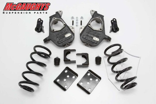 Chevrolet Silverado 1500 Quad Cab 2007-2013 4/7 Deluxe Drop Kit - McGaughys Part# 34004