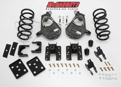 GMC Sierra 1500 Extended Cab 2007-2013 4/6 Deluxe Drop Kit - McGaughys Part# 34015