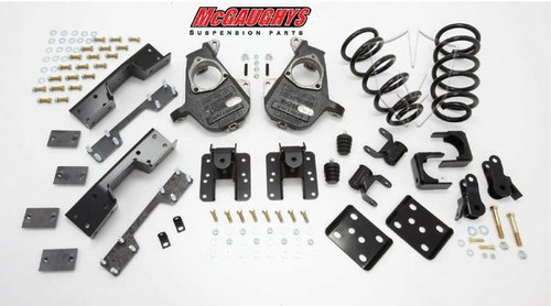 Chevrolet Silverado 1500 Quad Cab 2007-2013 4/6 Deluxe Drop Kit - McGaughys Part# 34016