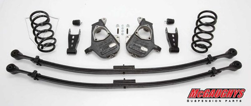 Chevrolet Silverado 1500 Standard Cab 2007-2013 3/5 Deluxe Drop Kit - McGaughys Part# 34022