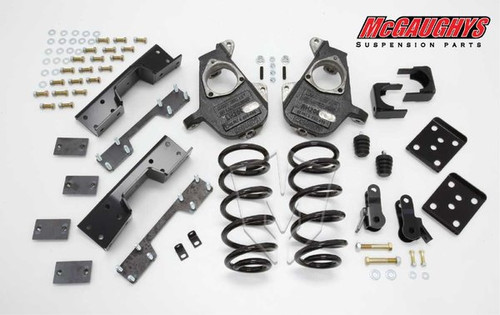 Chevrolet Silverado 1500 Standard Cab 2007-2013 4/7 Deluxe Drop Kit - McGaughys Part# 34023