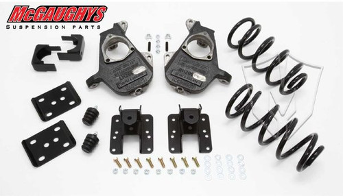 Chevrolet Silverado 1500 Standard Cab 2007-2013 3/5 Deluxe Drop Kit - McGaughys Part# 34025