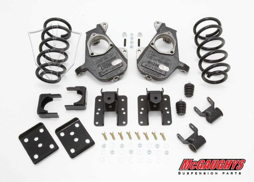 GMC Sierra 1500 Standard Cab 2007-2013 4/6 Deluxe Drop Kit - McGaughys Part# 34036
