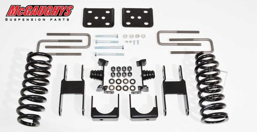 Toyota Tundra Double/Crew Max Cab 2007-2018 2/4 Economy Drop Kit - McGaughys Part# 98010